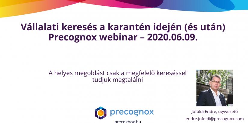 Precognox webinar, Precognox